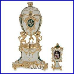 1903 Royal Danish Musical Royal Russian Egg 8.4 Inches