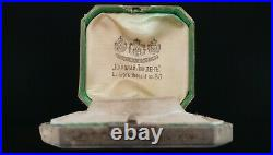 Antique Imperial Russian Gold Watch Jewelry Presentation Case Box Nikolai Linden