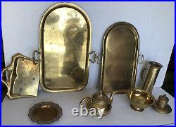 Antique Imperial Tsar Russian TEA Samovar Tea URN Tea KETTLE Set Gold Gild large