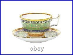EXCLUSIVE Russian Imperial Lomonosov Porcelain Tea Cup & Saucer Golden 52 Rare