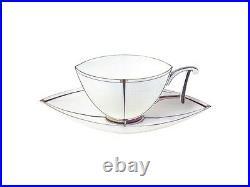 EXCLUSIVE Russian Imperial Lomonosov Porcelain Tea set Ark 2/8 Bone Gold Russia