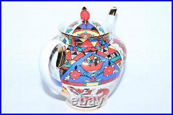 EXCLUSIVE Russian Imperial Lomonosov Porcelain Teapot National patterns 22k Gold