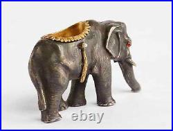 FABERGE Nice Russian Imperial GOLD & Silver Elephant
