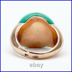 Faberge Ring Diamond 56 Gold 14K K Design Imperial Russian KF Workmaster