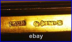 Faberge Russian Imperial Rose Gold Cigarette Case