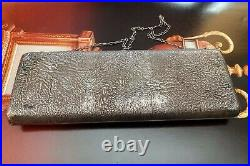 Imperial Russian 84 Silver Purse Case With 14k Gold Application Circa 1899-1908