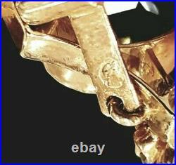 Imperial Russian Empire FABERGE Era Pendant Pin 56 Gold Tsarists ROMANOV Jewelry