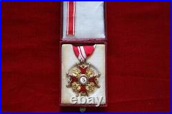 Imperial Russian Order of St. Stanislaus 3st Class, GOLD