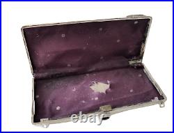 Imperial Russian Silver Purse Case With 14k Gold Application Circa 1917