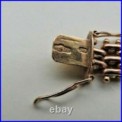 Imperial Russian Two Color Gold 56,14K Link Bracelet