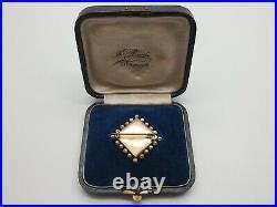 TILLANDER Imperial Eagle Russian 56 Gold Brooch Pendant Pin FABERGE Tsar Romanov